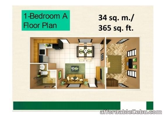 5th picture of condo for sale at COURTYARDS AT BROOKRIDGE cebu city For Sale in Cebu, Philippines