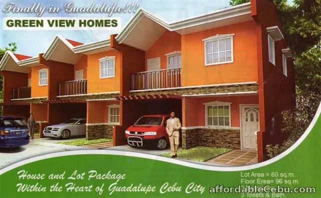 1st picture of house for sale at greenview homes guadalupe,cebu city For Sale in Cebu, Philippines