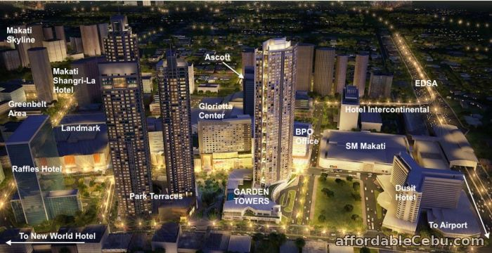 2nd picture of 1BR Unit in Garden Towers For Sale For Sale in Cebu, Philippines