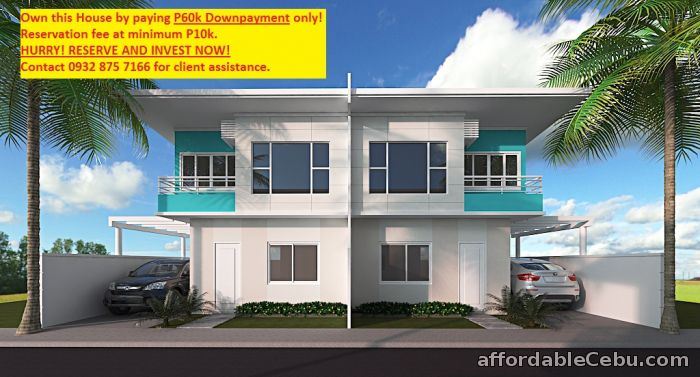 1st picture of Rent to Own House and Lot in Talisay City, Cebu For Sale in Cebu, Philippines
