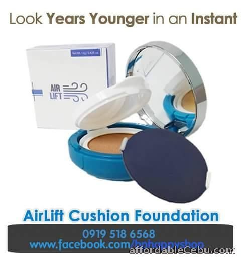 1st picture of AirLift Cushion Foundation (10-in-1 Makeup) The Phenomenal Foundation For Sale in Cebu, Philippines