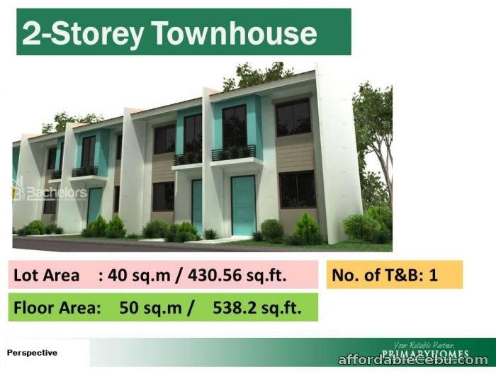 2nd picture of Why rent when you can own a House and Lot for only PhP 6, 527 per month For Sale in Cebu, Philippines