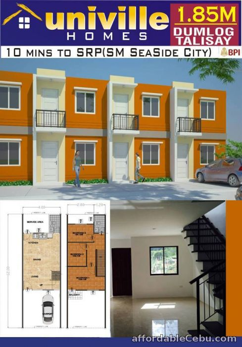 3rd picture of House & Lot For Sale in Cebu Univille Homes For Sale in Cebu, Philippines
