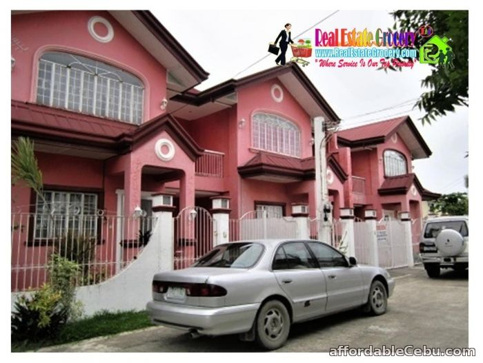 1st picture of For Rent : P20K Semi Furnish Unique Townhouse with 4BR 3CR 1CP For Rent in Cebu, Philippines