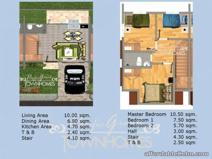 5th picture of Pacific Grand Villas (Townhouses) - Marigondon, Lapulapu For Sale in Cebu, Philippines