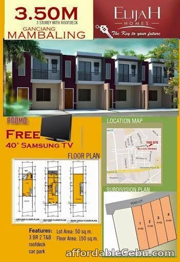 1st picture of Elijah Homes-Mambaling For Sale in Cebu, Philippines