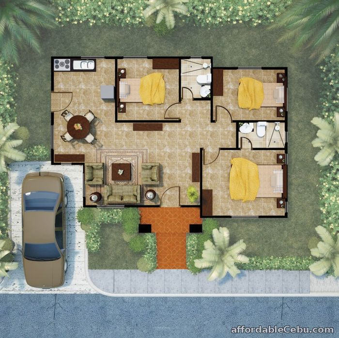 5th picture of House & Lot For Sale in Cebu Alegria Palms Dos-Hermoso For Sale in Cebu, Philippines
