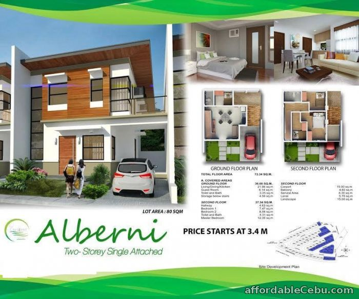 2nd picture of house for sale at The CRESCENT VILLE SUBDIVISION– Cadulawan, Minglanilla, Cebu For Sale in Cebu, Philippines