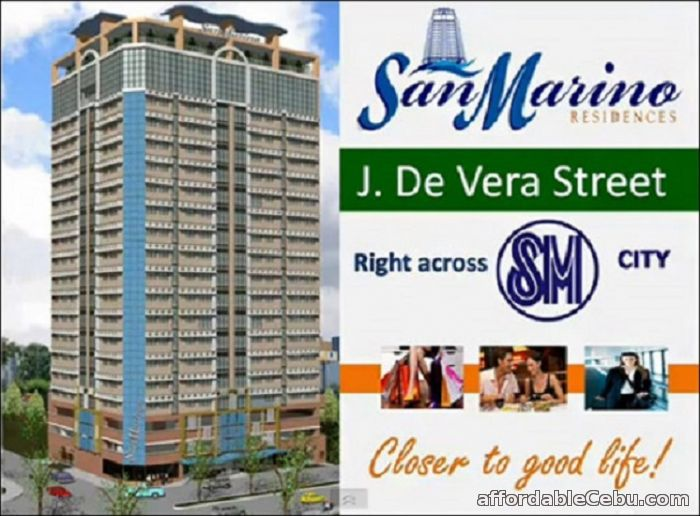 2nd picture of Studio unit for sale at cebu city near at SM CITY CEBU/Robinsons Galleria For Sale in Cebu, Philippines