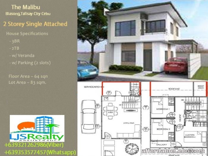 2nd picture of house for sale in Biasong Talisay City For Sale in Cebu, Philippines