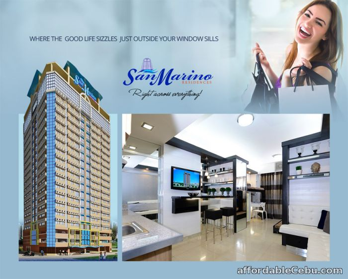 1st picture of Studio unit for sale at cebu city near at SM CITY CEBU/Robinsons Galleria For Sale in Cebu, Philippines