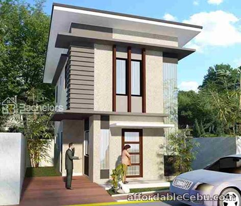 1st picture of TWO STOREY SINGLE ATTACHED HOUSE For Sale in Cebu, Philippines