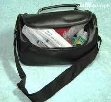 1st picture of PHN Nursing OB Bag Sling Type with Contents and BP Aneroid For Sale in Cebu, Philippines
