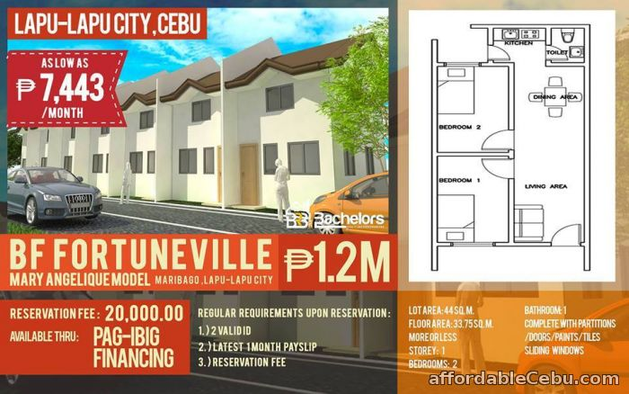 1st picture of 1-STOREY HOUSE For Sale in Cebu, Philippines