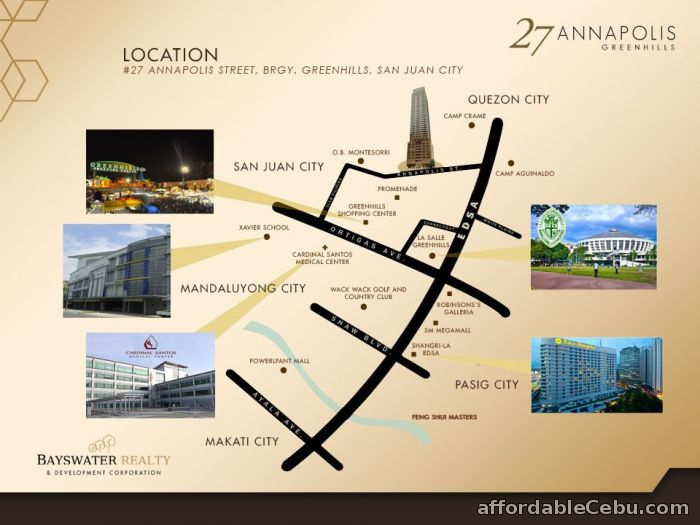 3rd picture of 27 Annapolis Greenhills Condo For Sale in Cebu, Philippines
