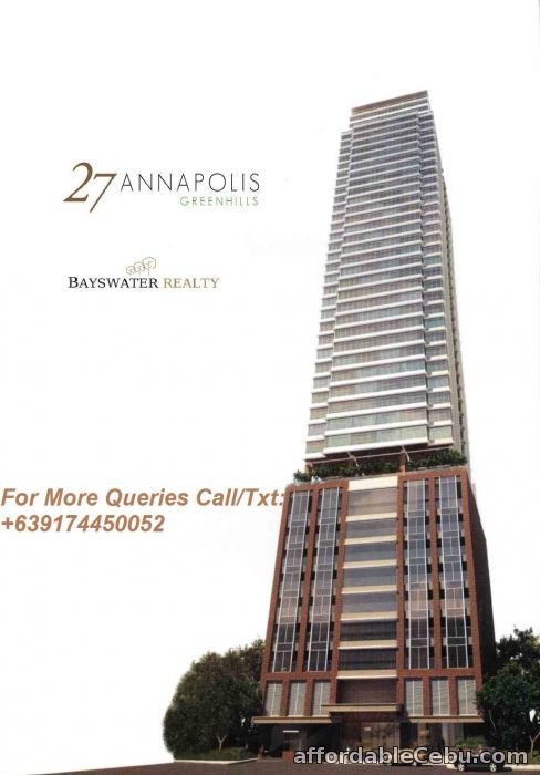 1st picture of 27 Annapolis Greenhills Condo For Sale in Cebu, Philippines