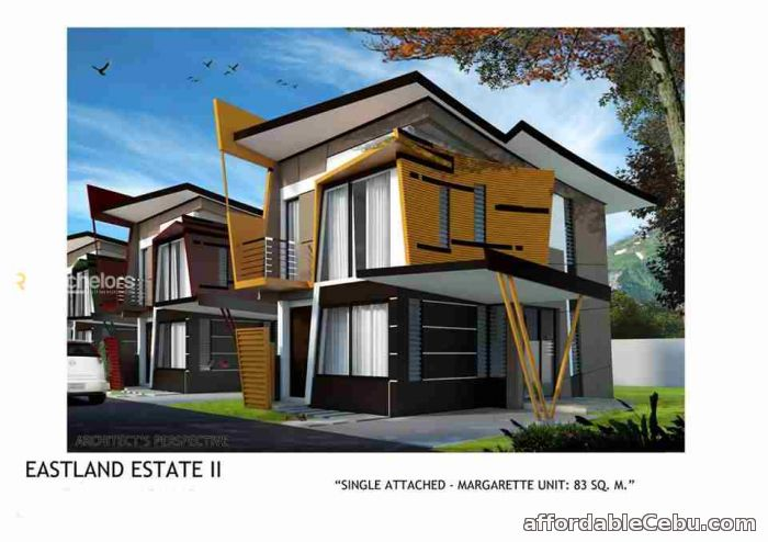 1st picture of 2 Storey Single Attached Margarette Model For Sale in Cebu, Philippines