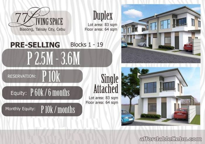 1st picture of MALIBU TALISAY CITY CEBU FOR ONLY 10,000 PER MONTH For Sale in Cebu, Philippines
