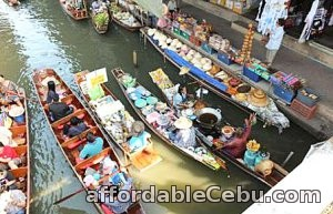 1st picture of Bangkok tour package, Damneon Saduak Floating Market with Rose Garden and lunch Offer in Cebu, Philippines