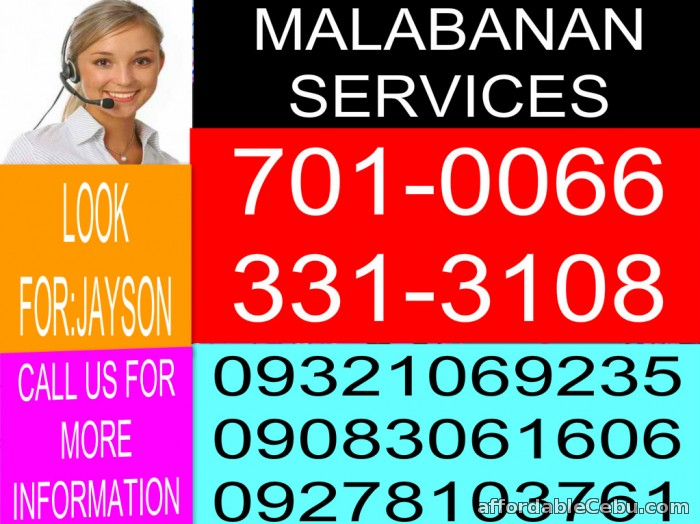 1st picture of jzq malabanan services 3313108/09321069235 For Sale in Cebu, Philippines