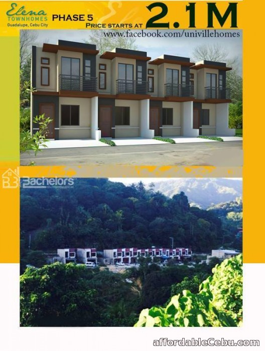 4th picture of ELENA TOWNHOMES - PHASE 5 Guadalupe, Cebu City For Sale in Cebu, Philippines