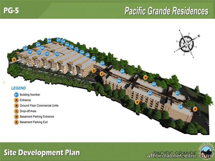 5th picture of Lapu-lapu Basak CONDO PACIFIC GRANDE 5 Cebu (12.5 sqm) For Sale in Cebu, Philippines