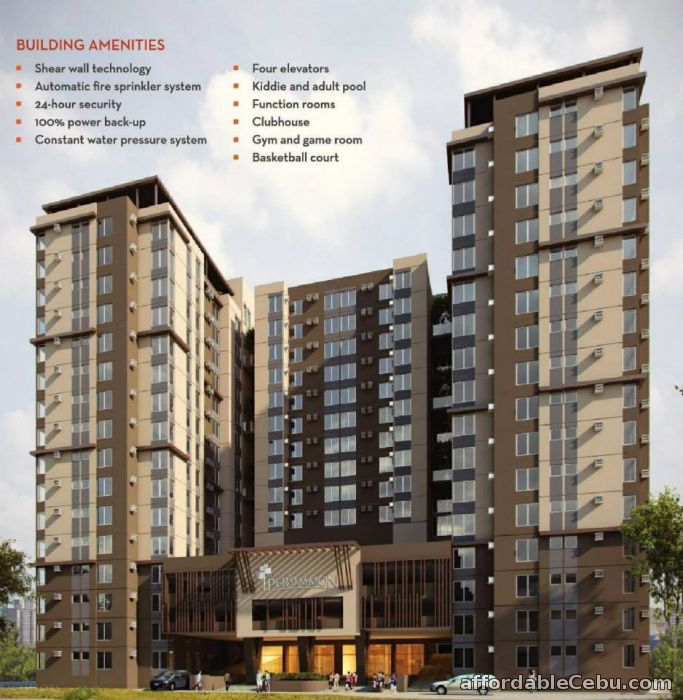 1st picture of Mabolo Condo 4Sale-The Persimmon Studios For Sale in Cebu, Philippines
