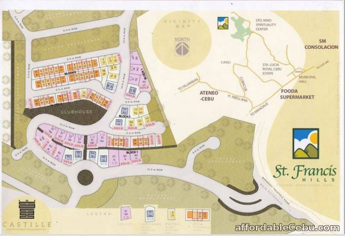 5th picture of Lot for sale at St. Francis Hills in Consolacion Cebu For Sale in Cebu, Philippines