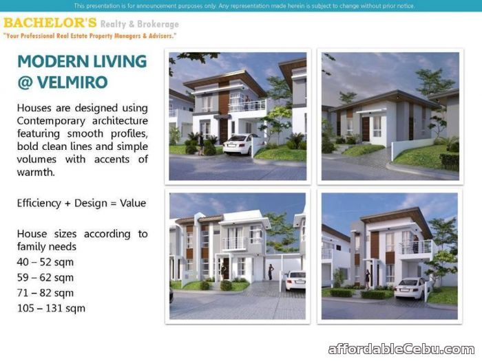 3rd picture of Velmiro Heights @ Tunghaan, Minglanilla, Cebu Anandi Model For Sale in Cebu, Philippines