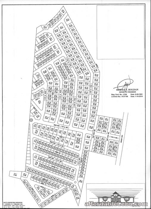 4th picture of lot for sale at Avedel Estate in Danlag Consolacion Cebu For Sale in Cebu, Philippines