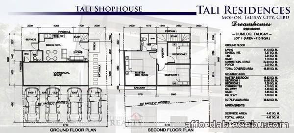 3rd picture of Tali Residences @ Dumlog, Talisay, Cebu Shophouses For Sale in Cebu, Philippines