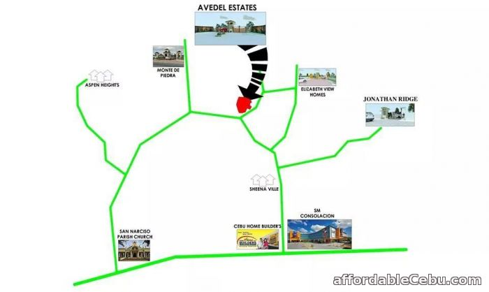 5th picture of lot for sale at Avedel Estate in Danlag Consolacion Cebu For Sale in Cebu, Philippines