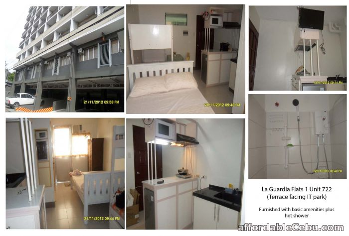 1st picture of Furnished condo walking distance IT park Lahug For Rent in Cebu, Philippines