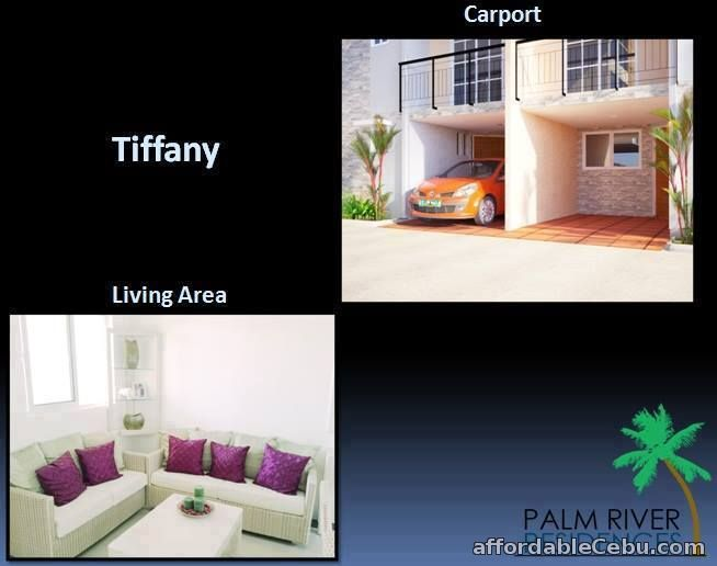 1st picture of Palm River Subdivision - Tiffany Townhouse For Sale in Cebu, Philippines