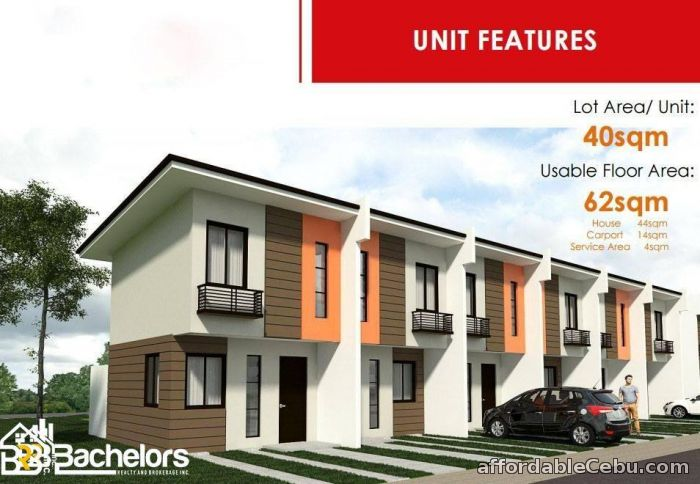 1st picture of Navona Townhouses As low as 7,911/month Only! For Sale in Cebu, Philippines
