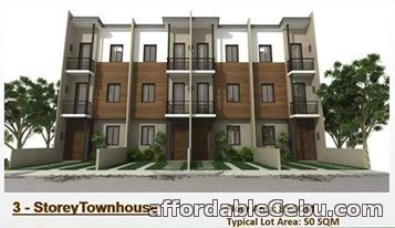 1st picture of 3-Storey Townhouse in Cebu City For Sale in Cebu, Philippines