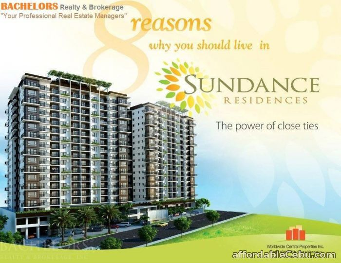 3rd picture of Banawa Studio w/balcony Sundance Residences 15,461/mo For Sale in Cebu, Philippines