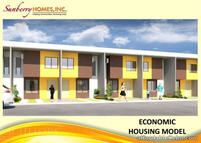 1st picture of Sunberry Homes Townhouses Lapu - Lapu City, Cebu For Sale in Cebu, Philippines