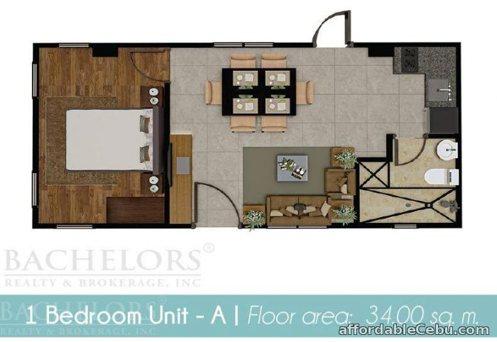 2nd picture of ARGAO Condo 1 Bedroom 4 SALE Argao Royal Palms For Sale in Cebu, Philippines