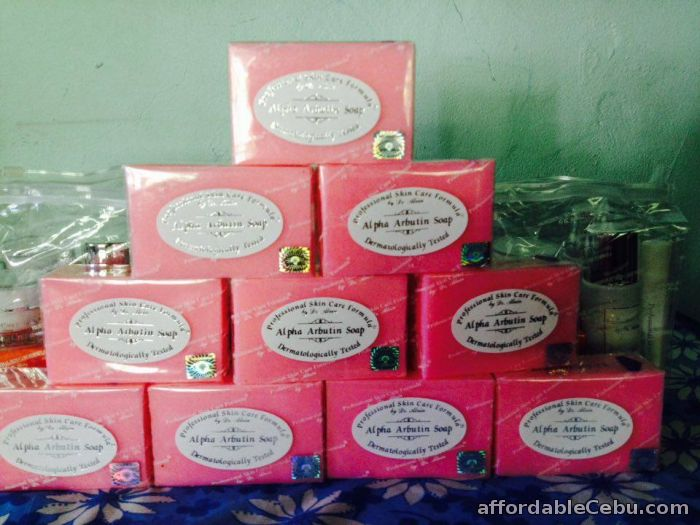 1st picture of Alpha Arbutin Soap Professional Skin Care Formula by Dr Alvin For Sale in Cebu, Philippines