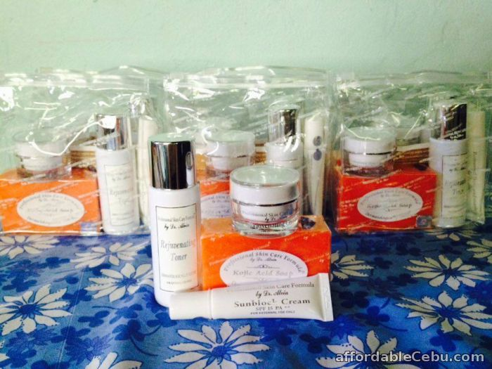 1st picture of Rejuvenating Cream Set Professional Skin Care Formula by Dr Alvin For Sale in Cebu, Philippines