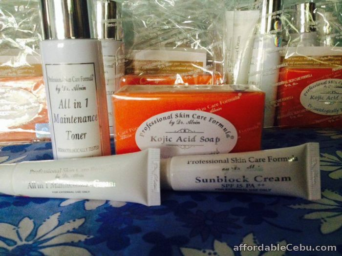 1st picture of Maintenance Cream Set Professional Skin Care Formula by Dr Alvin For Sale in Cebu, Philippines