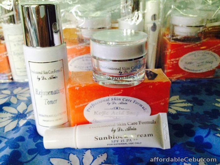 2nd picture of Rejuvenating Cream Set Professional Skin Care Formula by Dr Alvin For Sale in Cebu, Philippines