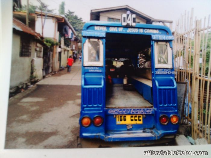 3rd picture of Rush Sale Multicab Passenger with Franchise LAHUG-CARBON For Sale in Cebu, Philippines