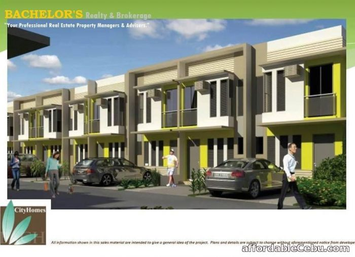 1st picture of City Homes Mactan Family Home-Townhouse For Sale in Cebu, Philippines