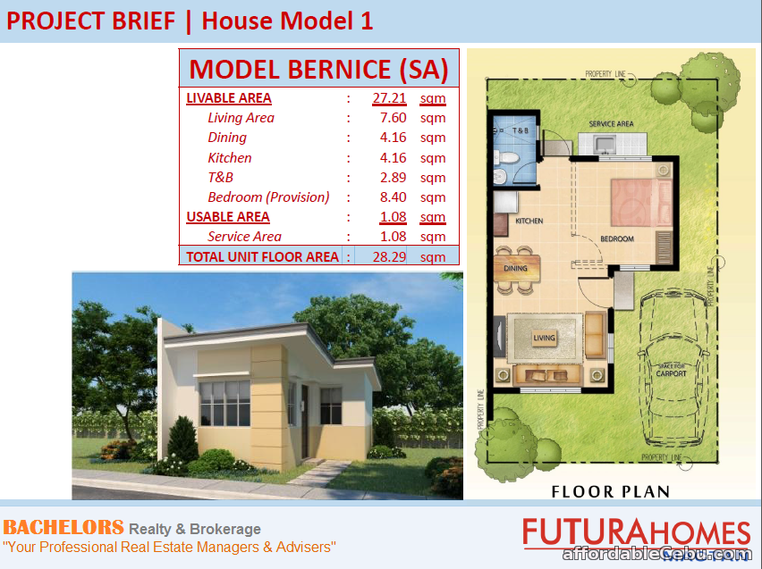 4th picture of Futura Homes Mactan Lot Only For Sale in Cebu, Philippines