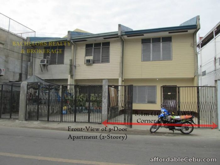 3rd picture of Labangon House and Lot with 3-Door Apartment For Sale For Sale in Cebu, Philippines