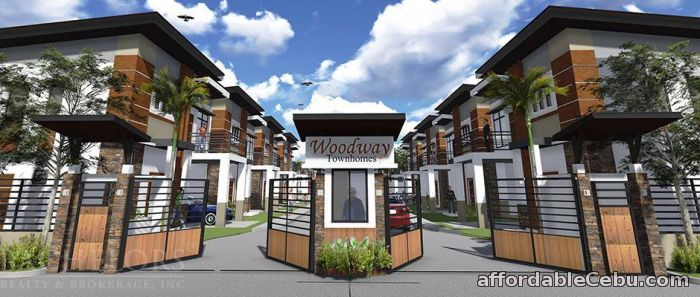 2nd picture of Talisay Cebu Townhouse FOR SALE Woodway Residences Amber Inner For Sale in Cebu, Philippines