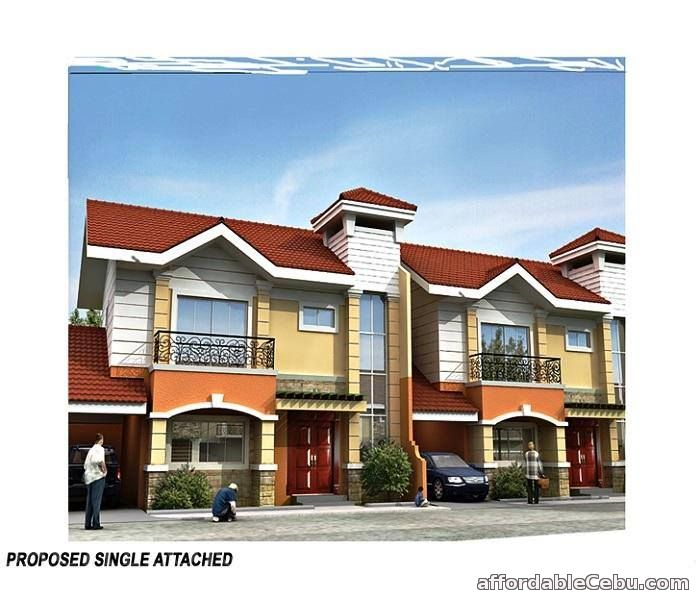 1st picture of Banawa Cebu City House & Lot 4 S2-Storey Single Attached House For Sale in Cebu, Philippines