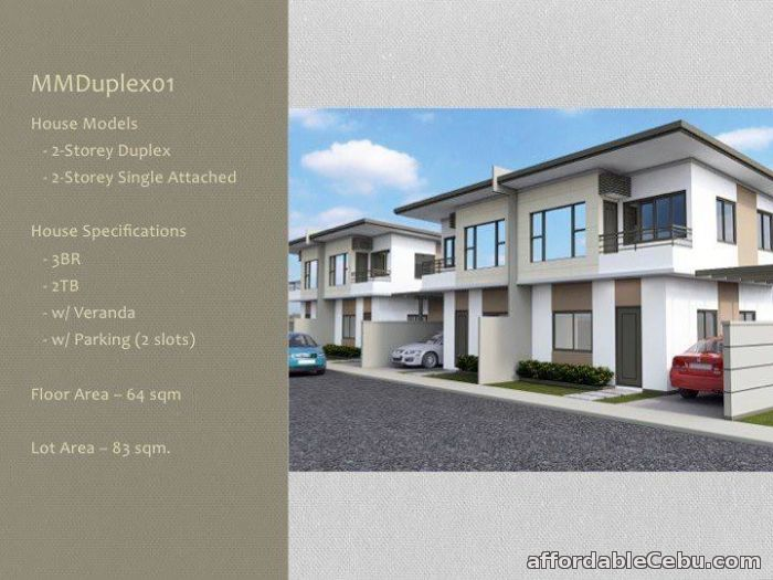1st picture of 2-Storey Duplex & Single Attached House&Lot in Mandaue City, Cebu For Sale in Cebu, Philippines